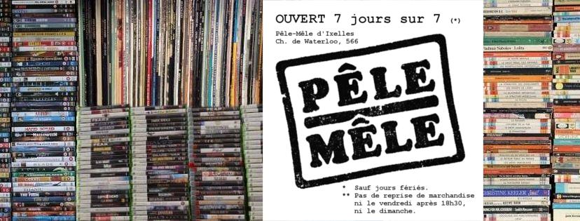 Favori Pêle-Mêle d'Ixelles – Pêle-Mêle NL08