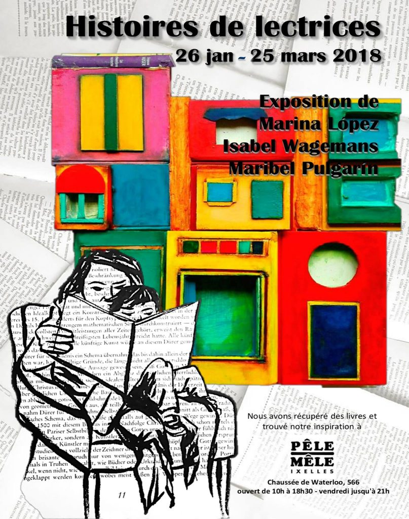 Expo : Marina Lopez @ Pêle-Mêle d'Ixelles | Ixelles | Bruxelles | Belgique