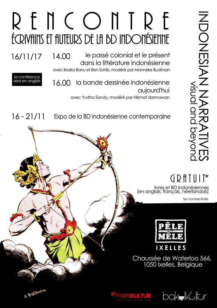 Expo de la BD indonésienne contemporaine @ Pêle-Mêle d'Ixelles | Ixelles | Bruxelles | Belgique