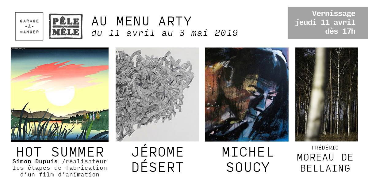 GARAGE-À-MANGER : AU MENU ARTY @ Garage-à-Manger | Ixelles | Bruxelles | Belgique