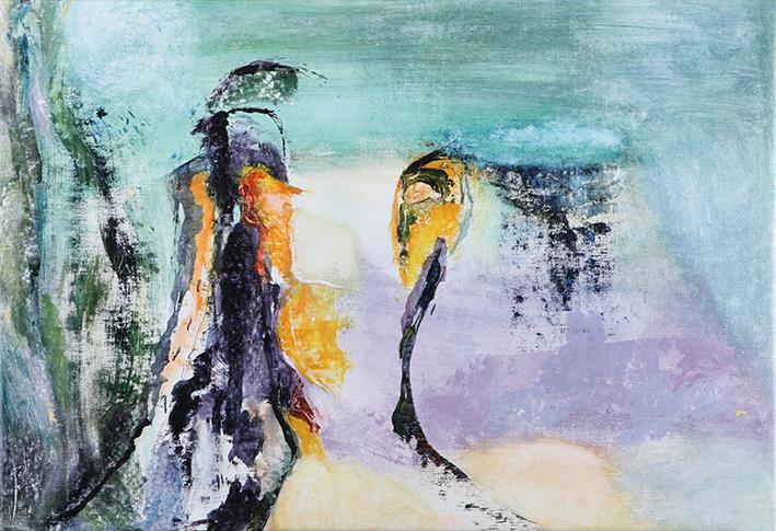 Jacqueline Ghaye Peintures - Exposition @ Pêle-Mêle d'Ixelles | Ixelles | Bruxelles | Belgique