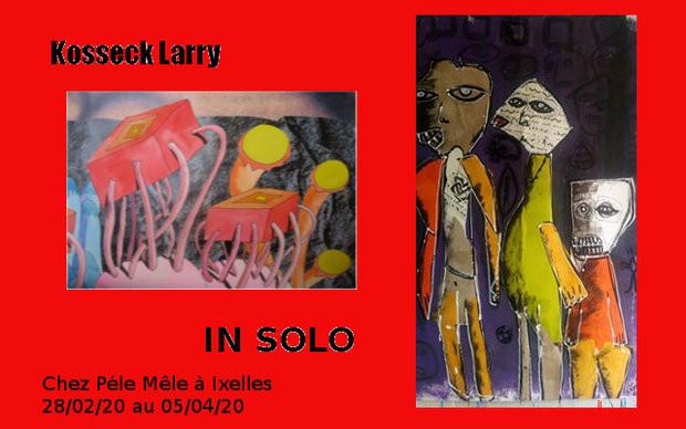 Expo de In Solo et Kosseck Larry @ Pêle-Mêle d'Ixelles | Ixelles | Bruxelles | Belgique
